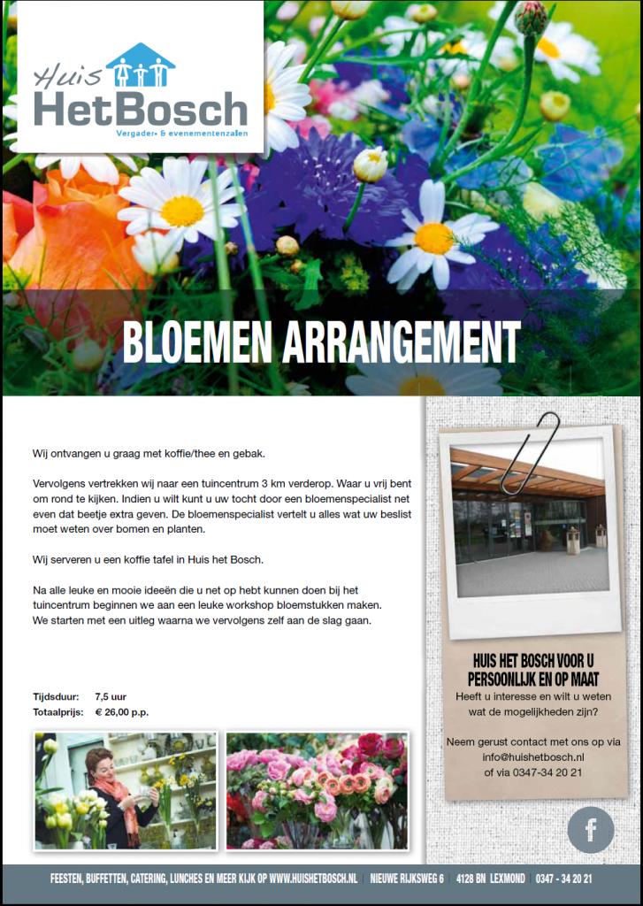 Arrangement Bloemen